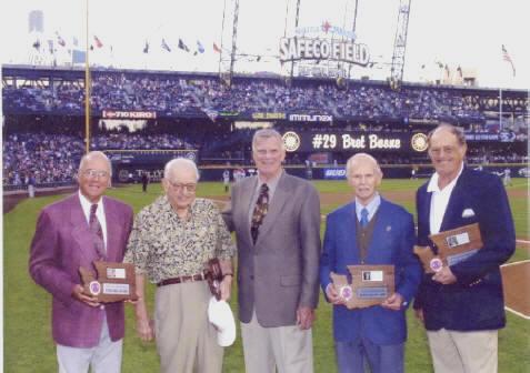 Bob Blackburn, Les Keiter, Georg Meyers and Harry Missildine