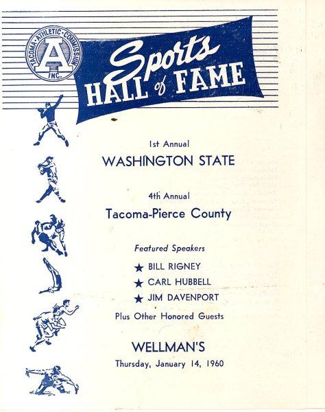 1960 State HOF Program