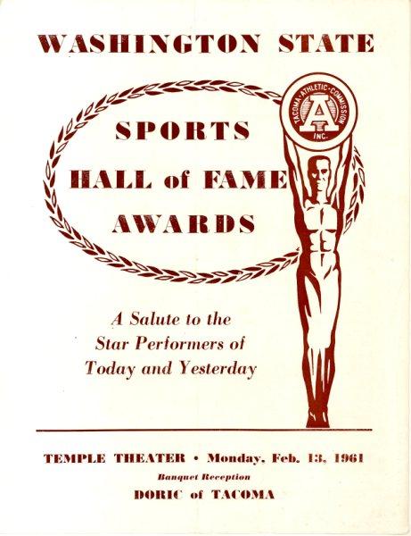 1961 State HOF Program