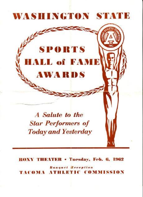 1962 State HOF Program
