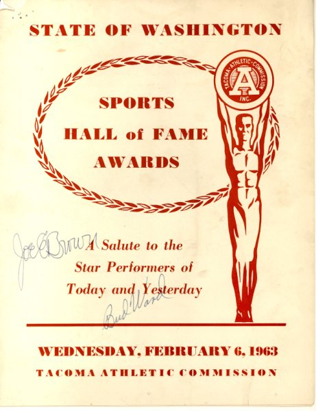 1963 State HOF Program