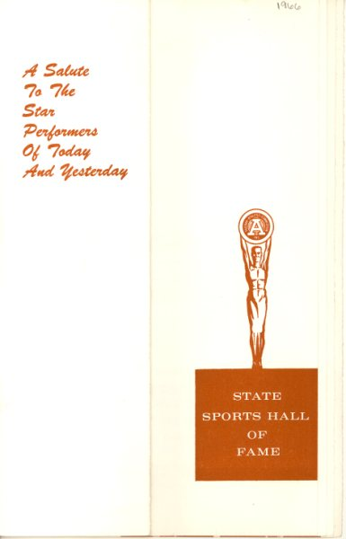 1966 State HOF Program