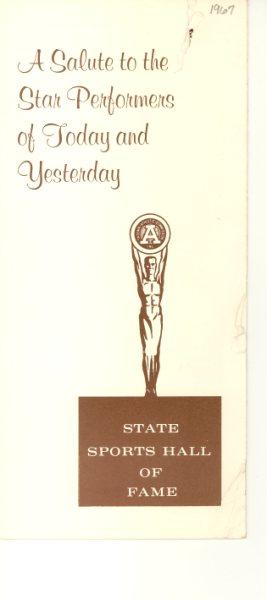 1967 State HOF Program