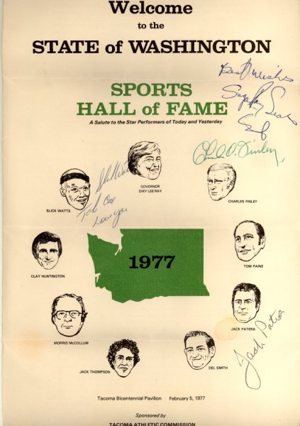 1977 State HOF Program