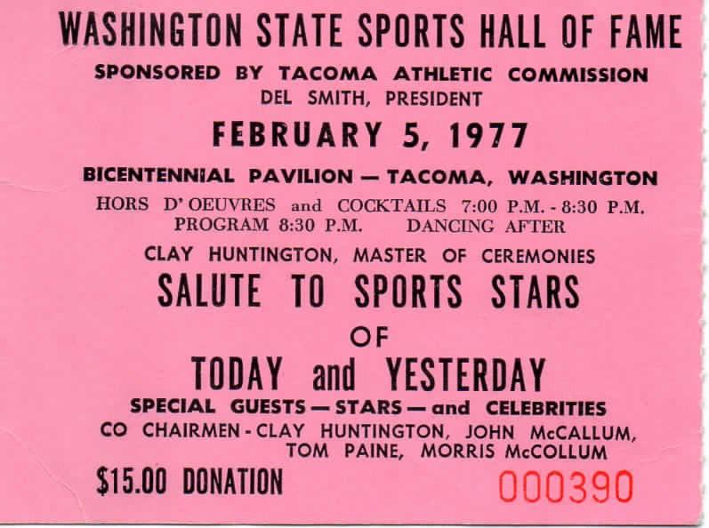 1977 Ticket